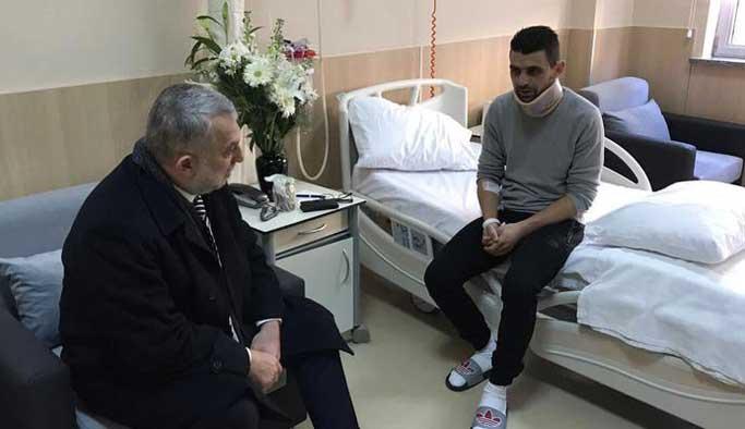 Rotterdam'da yaralanan Hüseyin Kurt Türkiye'ye getirildi