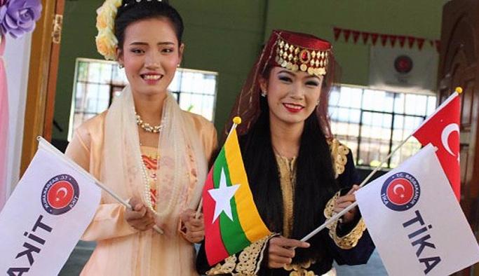 TİKA'dan Myanmar'a eğitim desteği
