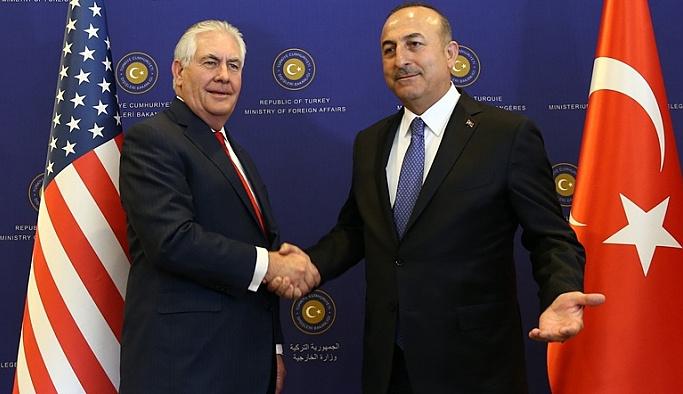 Tillerson, Ankara'da konuları geçiştirdi