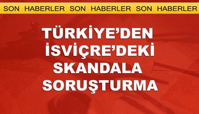 Türkiye'den İsviçre'deki 'pankart skandalı'na soruşturma
