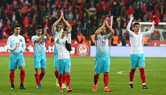 Türkiye-Moldova'yı 3-1 yendi