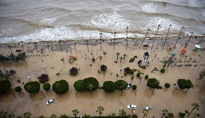 Türkiye'nin birçok kıyısı deniz suyu altında kalacak
