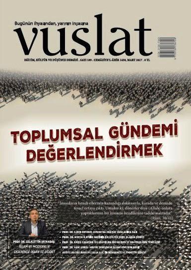 Vuslat Dergisi Mart sayısı çıktı