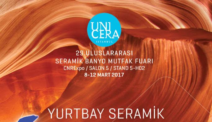 Yurtbay Seramik UNICERA Fuarı'na katılacak