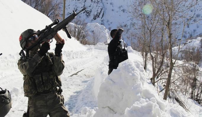 Hakkari ve Şırnak'ta 13 terörist öldürüldü