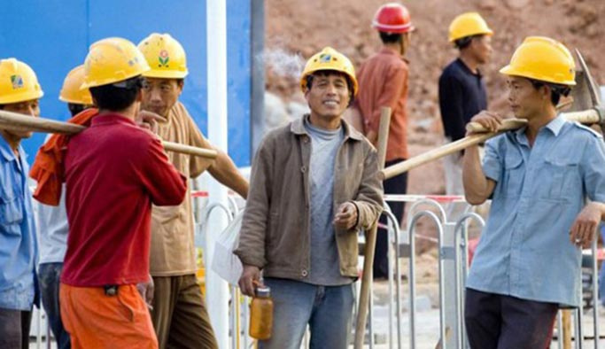 6 bin Çinli inşaat işçisi İsrail'e gelecek