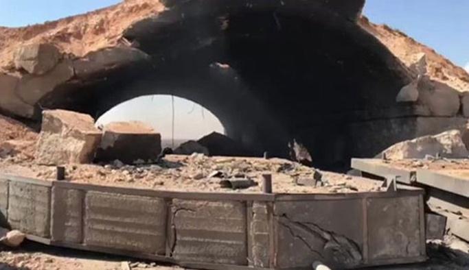 ABD'nin vurduğu Suriye hava üssünden geriye kalanlar