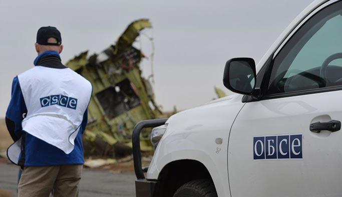 AGİT aracı Ukrayna'da infilak etti