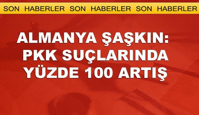 Almanya şaşkın: PKK'lıların suç dosyası yüzde 100 arttı