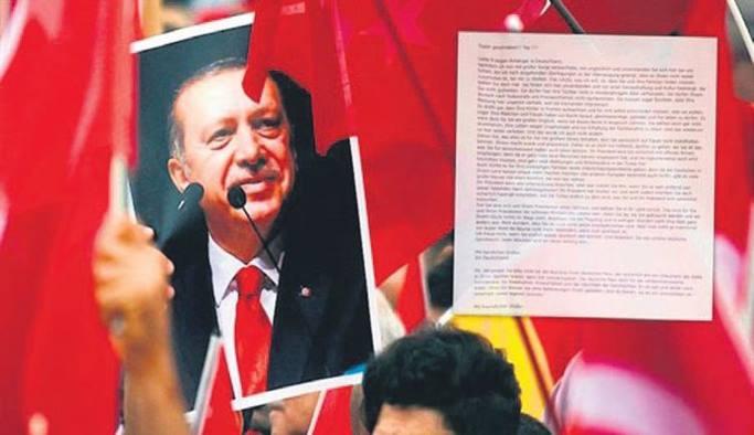 Almanya'da yaşayan Türklere tehdit