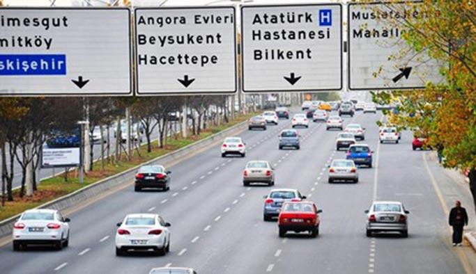Ankara'da 1 Mayıs gününde trafiğe dikkat