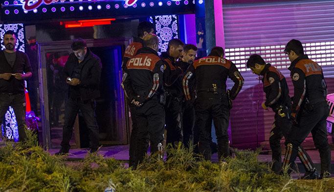 Ankara'da gece kulübü kalaşnikofla tarandı