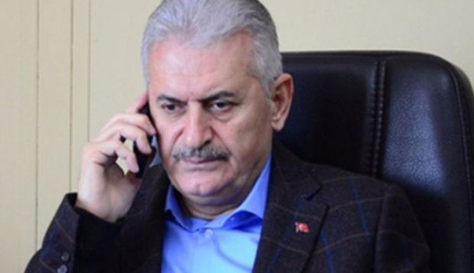 Başbakan Yıldırım'dan Barzani'ye ile telefon