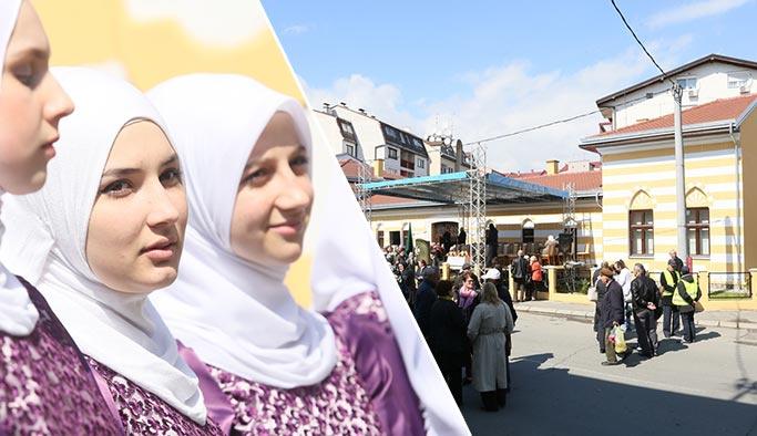 Bosna'da 30 yıldır kapalı olan medrese törenle açıldı