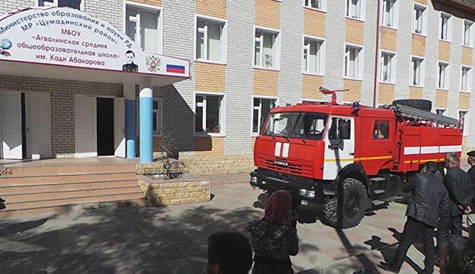 Dağıstan'da okul binasında patlama