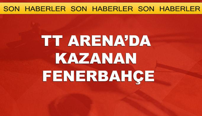 Derbi maçı Fenerbahçe'nin