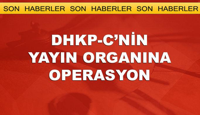 DHKP-C'nin dergisine gece operasyonu