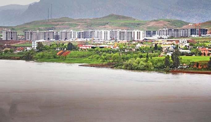 Dicle'nin kenarına yeni bir şehir inşa ediliyor