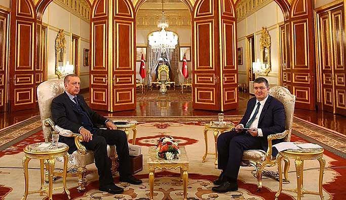 Erdoğan'dan Trump'a: Teşekkür ederim ama lafta kalmasın