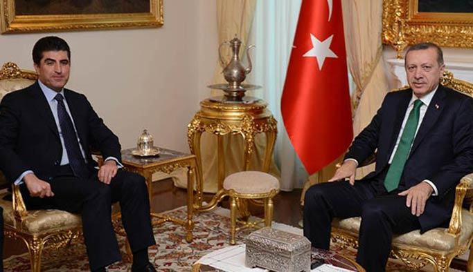 Erdoğan, Barzani'yi kabul edecek