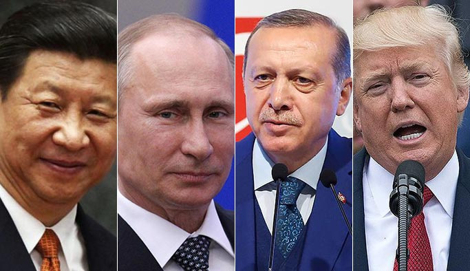 Erdoğan, Mayıs'ta dünyanın üç büyük lideriyle ayrı ayrı görüşecek