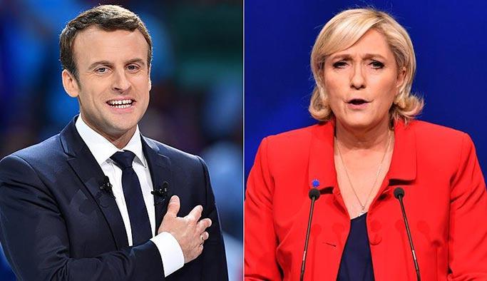 Fransa'da AB'nin korktuğu oldu, Le Pen ikinci turda
