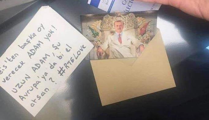 Fransa'daki sandıklarda Erdoğan sürprizi