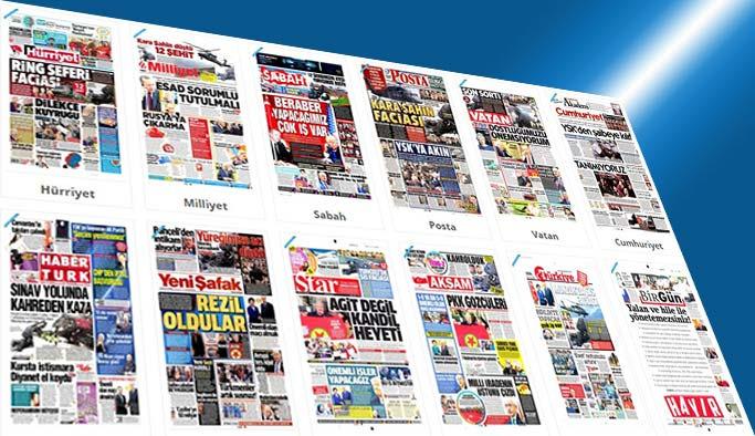 Gazetelerin bugünkü manşetleri - 19 Nisan 2017
