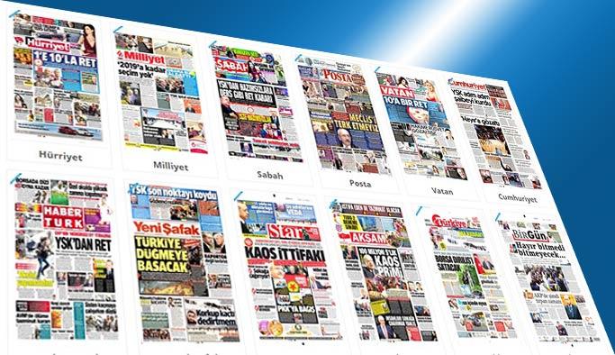 Gazetelerin bugünkü manşetleri - 20 Nisan 2017