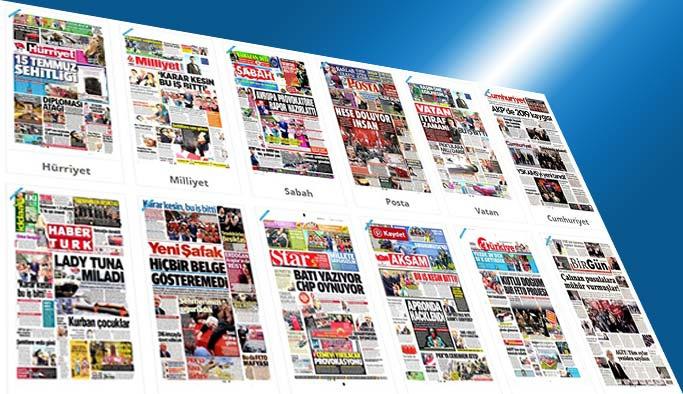 Gazetelerin bugünkü manşetleri - 21 Nisan 2017