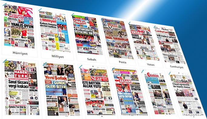 Gazetelerin bugünkü manşetleri - 24 Nisan 2017