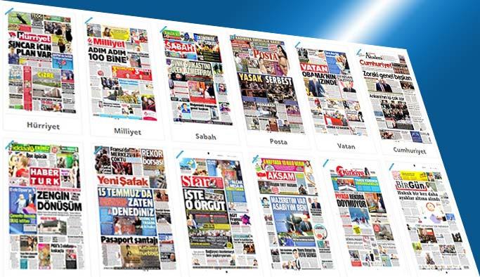 Gazetelerin bugünkü manşetleri - 25 Nisan 2017
