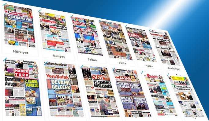 Gazetelerin bugünkü manşetleri - 26 Nisan 2017