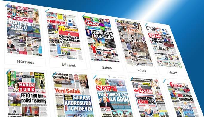 Gazetelerin bugünkü manşetleri - 28 Nisan 2017