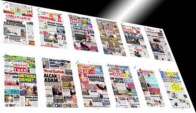 Gazetelerin bugünkü manşetleri - 4 Nisan 2017