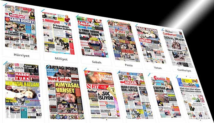 Gazetelerin bugünkü manşetleri - 5 Nisan 2017