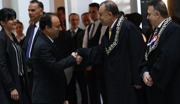 HDP ilk kez Yüce Divan Salonu'nda