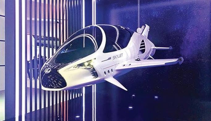 İstanbul'da bir uzay aracı