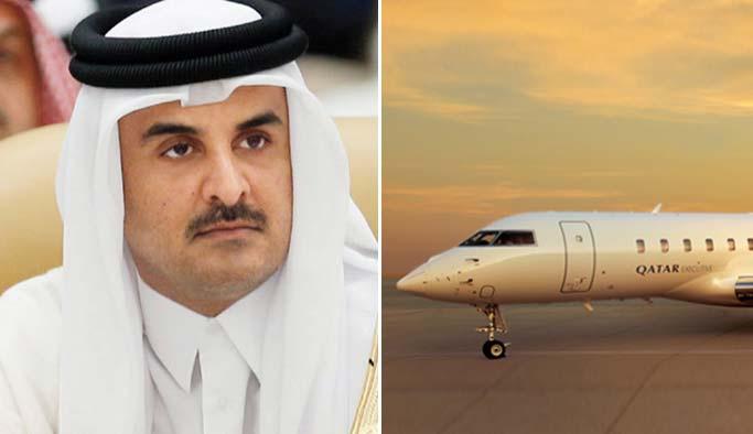 Katar Emiri rehine takası için uçak dolusu para gönderdi
