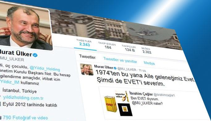 Murat Ülker sosyal medya hesaplarını kapattı