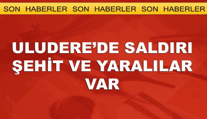 Şırnak'ta terör saldırısı: Şehit ve yaralılar var