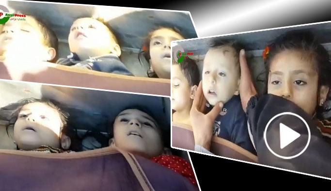 Suriye'de kimyasal katliam: En az 100 ölü