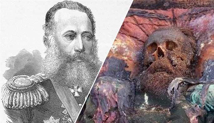 Tabuttan çıkan Rus generalin kimliği belli oldu