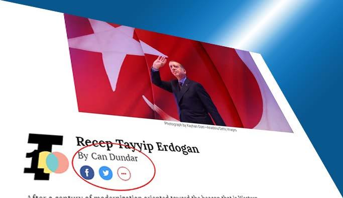 TIME, Erdoğan'ı Can Dündar'a tanıttırdı