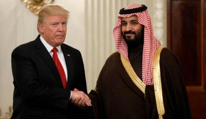 Trump, S. Arabistan'dan yeterince para alamamaktan şikayetçi