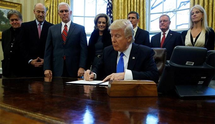 Trump petrol baronlarına vaadini yerine getirdi