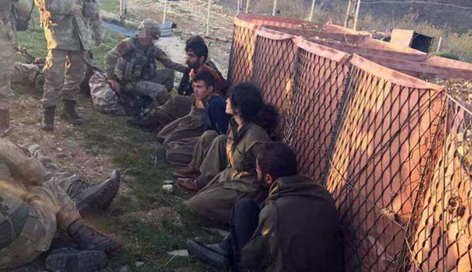 Tunceli'deki teröristlerin sonu FOTO