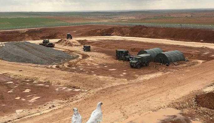 Türkiye Cerablus'a askeri üs inşa ediyor