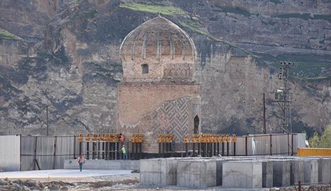 Türkiye'de bir ilk, Hasankeyf'teki türbe tamamen taşınıyor