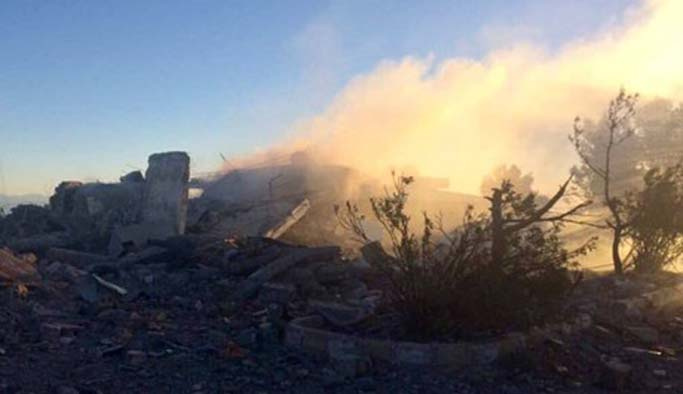 Türkiye'nin bombaladığı Şengal'den ilk görüntüler